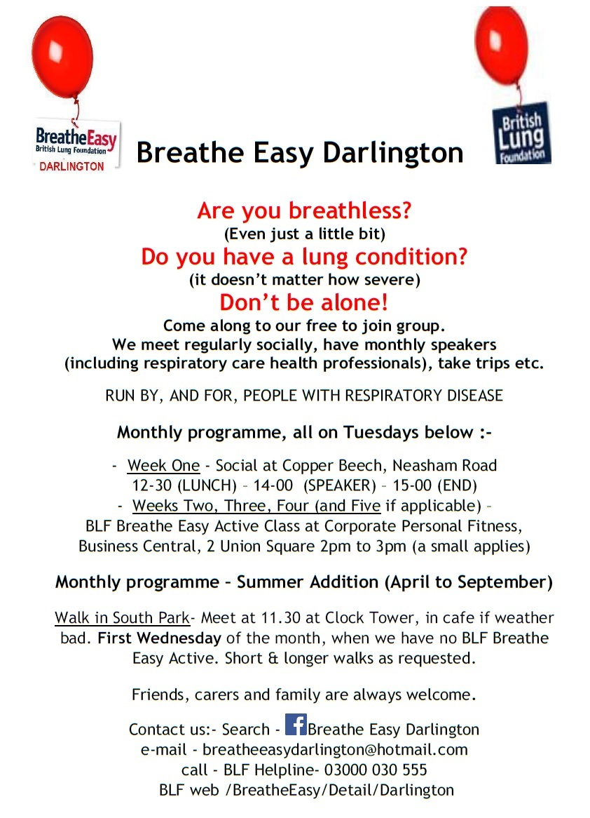 breathe easy darlington